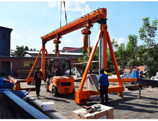 Container Lifting Equipment Fixed Crane Factory 2t