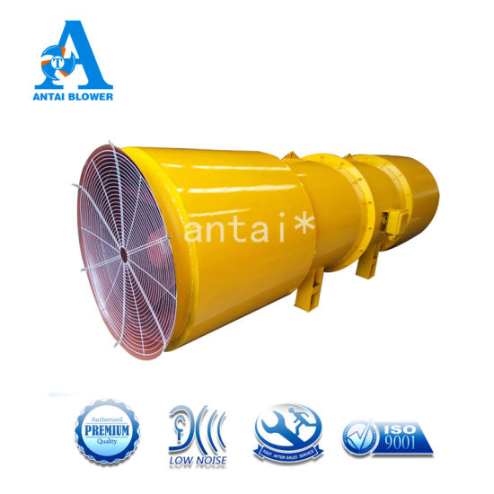 Sdf-10 High Pressure High Efficiency Iron Industrial Ventilation Jet Axial Fan for Subway Exhaust