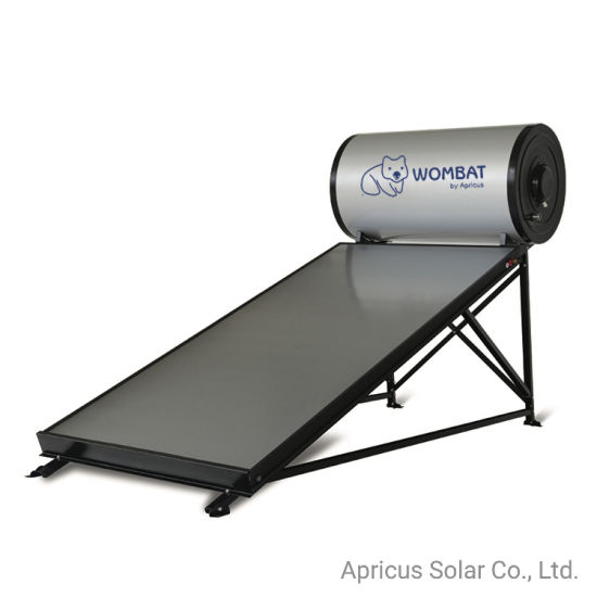 China 150l Low Price Rooftop Flat Plate Panel Thermosiphon Solar Water Heater China Soalr Water Heater And Flat Plate Solar Water Heater Price