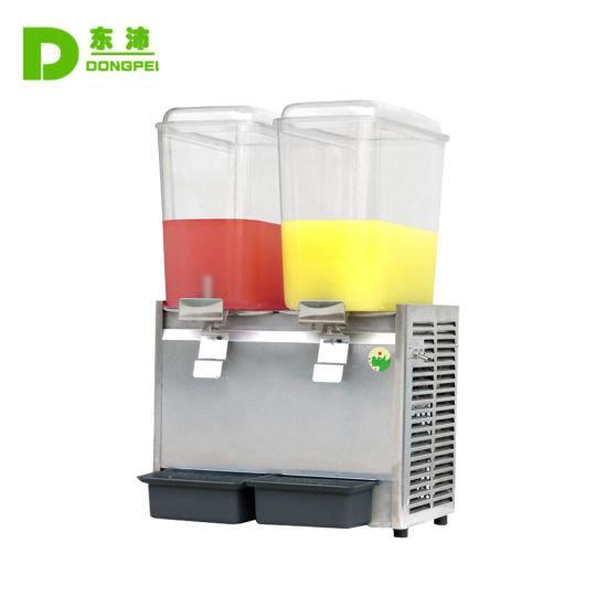 18L Dual Tanks Cold Drink Juice Dispenser
