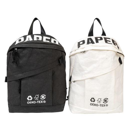 RPET Kraft Paper Material Backpack Everyday Bag Rucksack Fashion Leisure Sport School Backpack