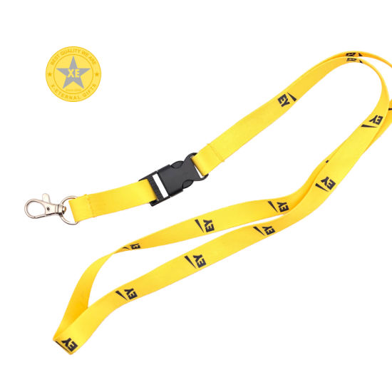 Promotion Gift Personalized Woven Logo Satin Ribbon for Lanyard pictures & photos