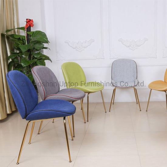 (SP-HC436) Replica Gubi Beetle Restaurant Dining Chair by Gamfratesi