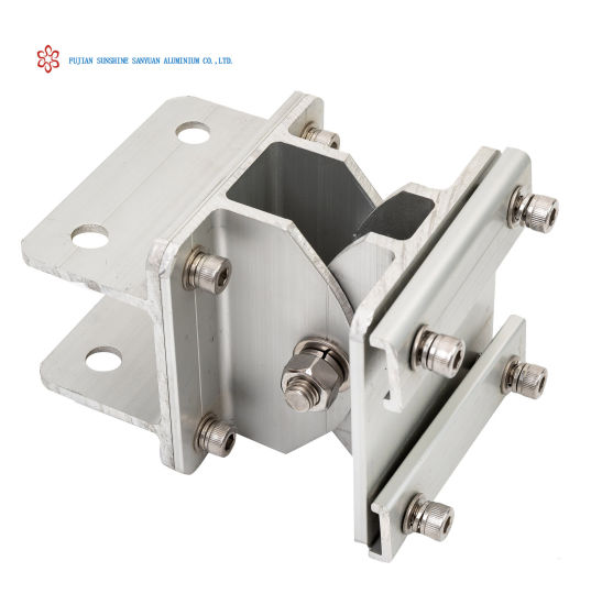 Aluminium Extrusion Solar Support Components for Solar Ground System Mounting Alloy 6005