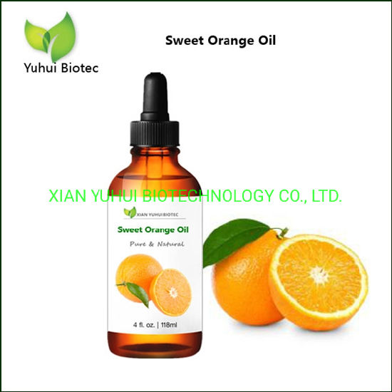 Distilled Essential Oil Sweet Orange Oil for Anxiety