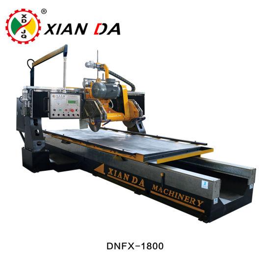 Dnfx-1800 (CNC) Automatic Stone Bridge Profiling Linear Gantry Cutting Machine for Decorative Line