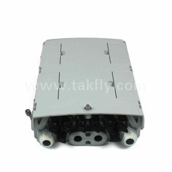 8 Ports FTTH Fiber Optic Splitter Termination Box with 5mm Drop Cable
