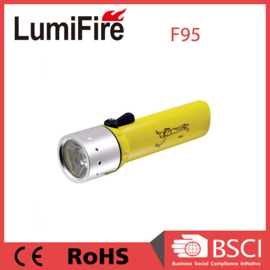 Xr-E Q5 LED Ipx8 Diving Flashlight