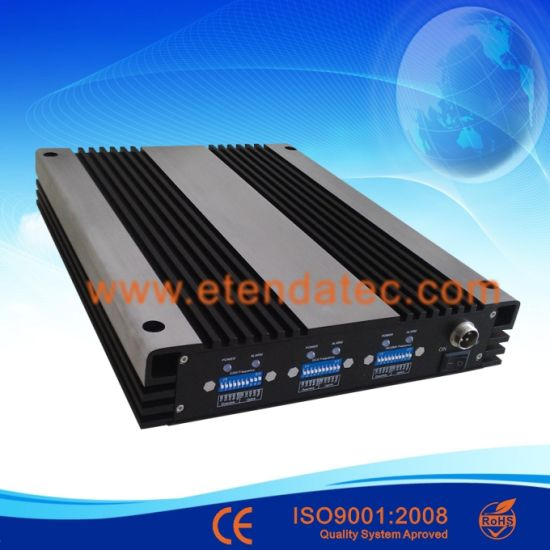 Industrial 85db GSM 900MHz Dcs 1800MHz WCDMA 2100MHz Signal Repeater pictures & photos