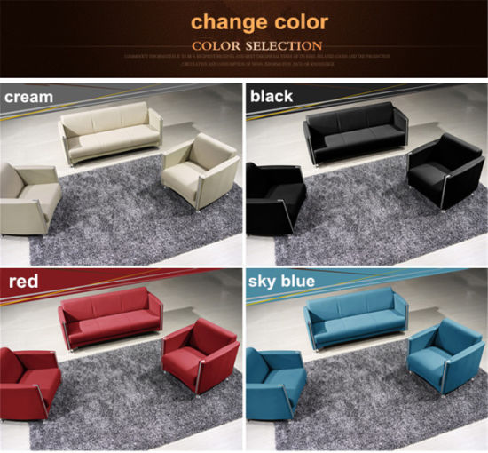 Modern Popular New Design Customized Color Simple Office Leisure Combination Sofa pictures & photos