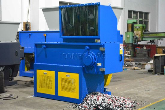 Plastic Recycling Machine/Granulator/PVC PE ABS Pet PP Shredder/Single Shaft Shredder pictures & photos