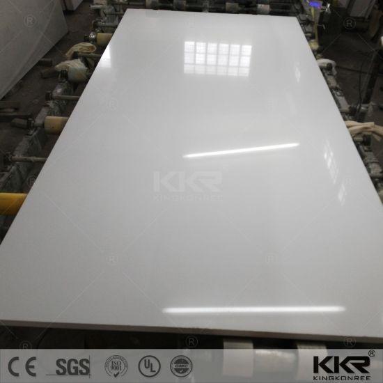 Kkr Pure White Sparkle Mirror Silestone Quartz Stone
