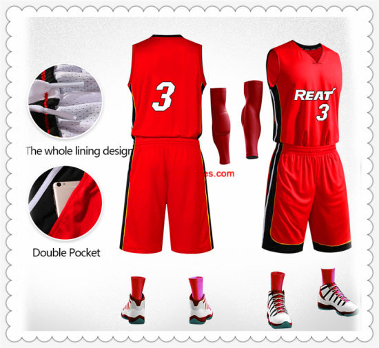 0b160661280 China Summer Custom Children Basketball Suit - China Basketball Suit ...