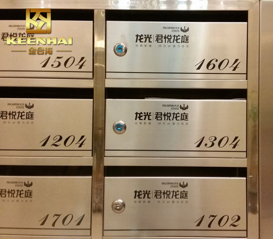 China Wall Mount Residential Mailboxes for Apartment Building ...