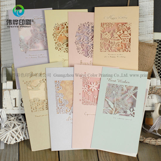 Customized Luxury Wedding Invitation Card Design with Envelope