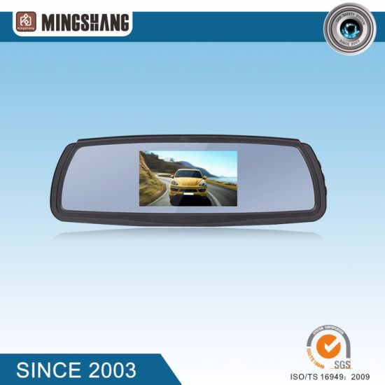 Car Security System with 4.3-Inch Mirror Monitor and Waterproof Rear View Camera pictures & photos