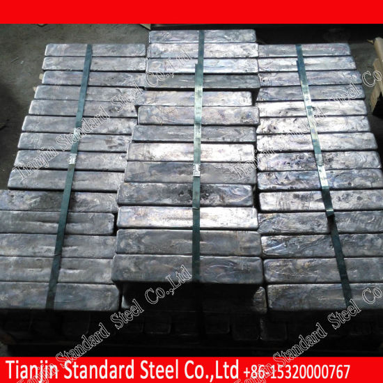 ASTM B29-03 99.994% Lead Ingot for Cable Sheathing pictures & photos