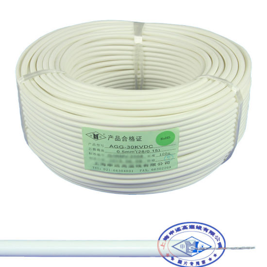 China UL3239 High Temperaure Silicone Rubber High Voltage Wire ...