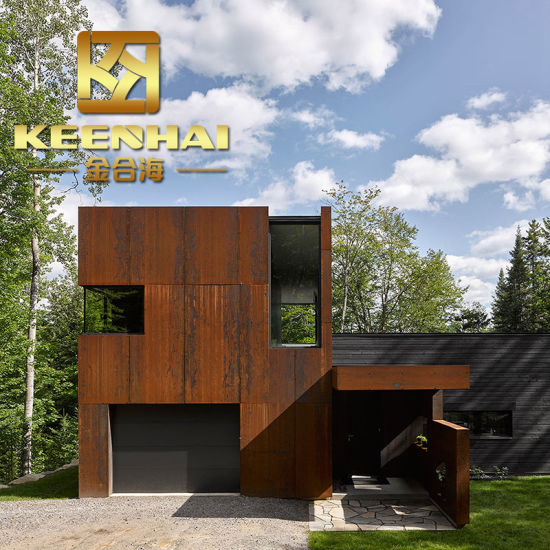 China Metal Cladding Panels Corten Steel Building Panels For