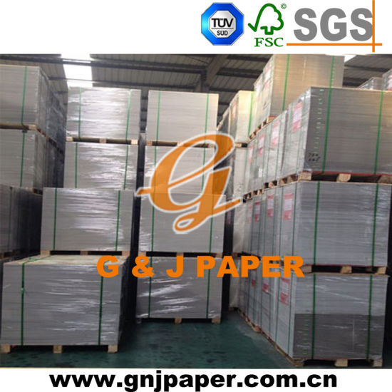 Top Quality Double Sides Coated Triplex Paper with White Back pictures & photos