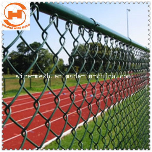 PVC Coated/Galvanized Chain Link Fence