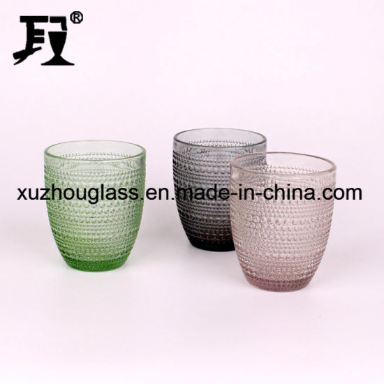 Drink Water Glass Cup Drinking Colored Drinking Water Cup Glass pictures & photos