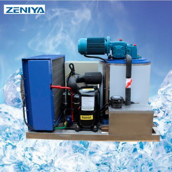 High Quality Low Noise Flake Ice Maker Making Machine