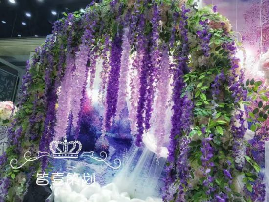 High Quality Artificial Flower of Westeria Gu12243370 pictures & photos