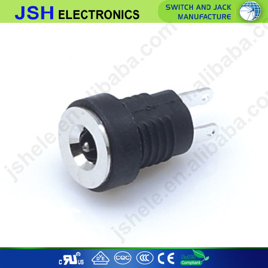 1.3mm X 3.5mm Panel Mount DC Power Socket