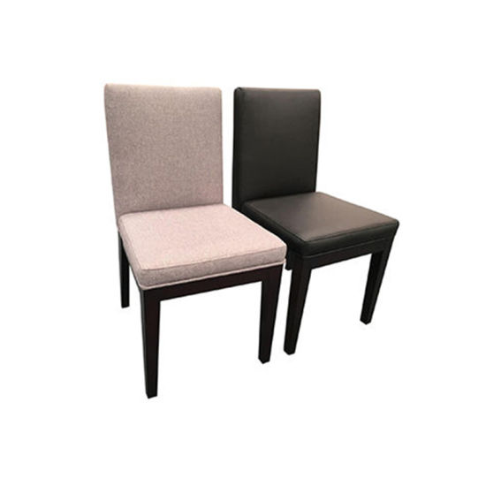 Dining Chair With Fabric Cushion Seat