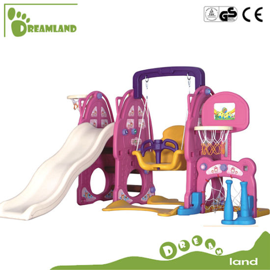 Commercial Popular Plastic Slide for Children pictures & photos