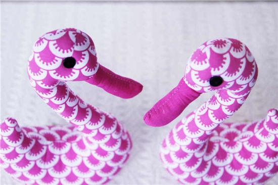 Wholesale Plush Swan Stuffed Animal Soft Goose Toy