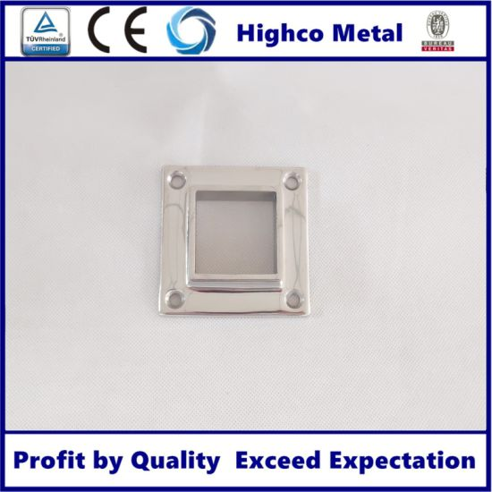Handrail Accessories Stainless Steel 304 316 Handrail Collar Flange