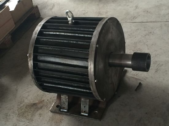 Selling 20kw 220V/380V/420V Axial Flux Pmg Permanent Magnet Generator Design pictures & photos