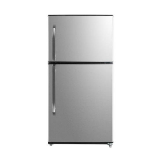 E-Star Frost Free Grip Handle Deep Top Mount Refrigerator