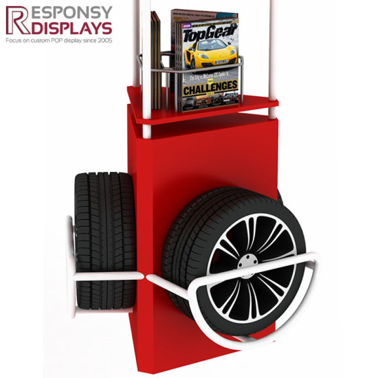 Car Wheel Display Stand