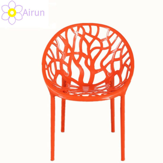 Wholesale Cheap Price Hot Selling Stackable Round Egg Chair Plastic Dining Restaurant Cafe Leisure Chair