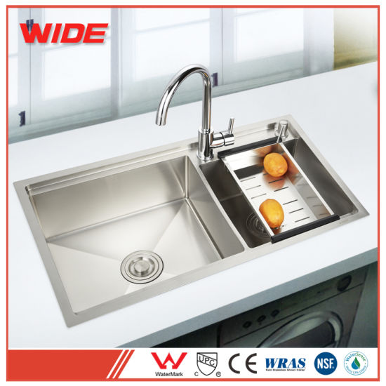 china best quality double bowl hand made 304 sus kitchen wash sink rh gdwide en made in china com good quality kitchen sinks best quality kitchen sinks uk