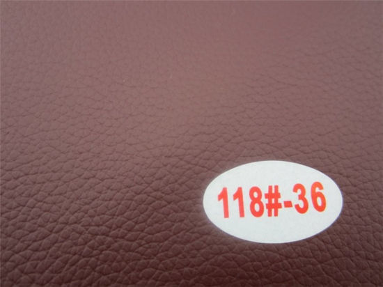 Superfine Quality Abrasion-Resistant PVC Synthetic Leather for Furniture Manufacturing pictures & photos