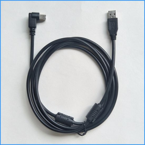 USB 2.0 90 Degree USB Printer Scanner Cable