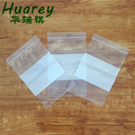 100 Poly Bag Zipper Resealable Plastic Shipping Bags 6 x 9