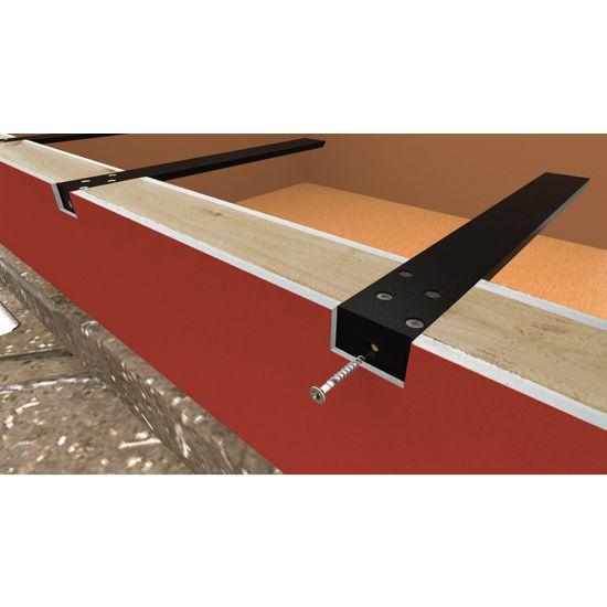 Customized Metal Hidden Countertop Support Brackets