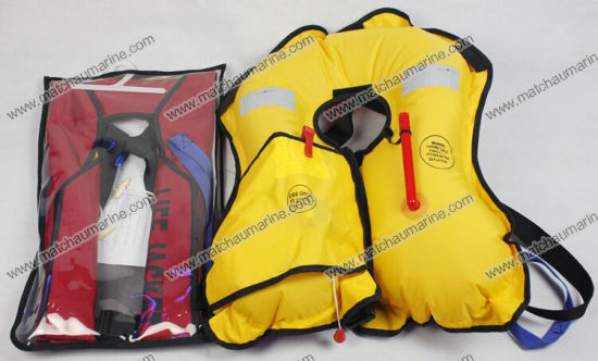 Ce Approved 150n Inflatable Life Jacket Vest pictures & photos
