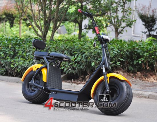 Harley Scrooser Style Electric Scooter with Big Wheels Fashion Citycoco pictures & photos