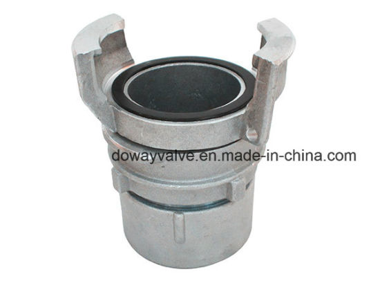 France Type Aluminum Guillemin Couplings Female with Latch