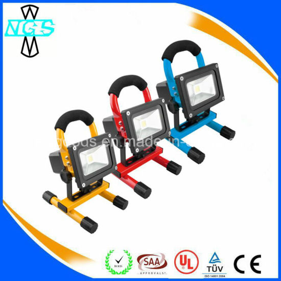 LED Emergency Light Rechargeable Outdoor LED Floodlight pictures & photos