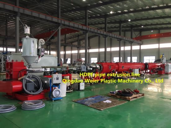 HDPE/PP/PPR/PE/PVC Pipe Making Manufacturing Machine/Machinery/Extruder/Extrusion Machinery/Extrusion Machine/Production Line