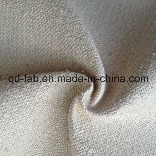 Hemp Silk Canvas Fabric (QF13-0138) pictures & photos