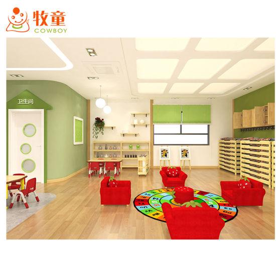 Kindergarten School Classroom Wood Children Furniture Supplier From Guangzhou