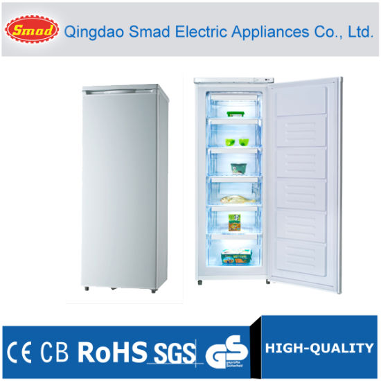 Home Single Solid Door Vertical/Upright Freezer with Drawers pictures & photos